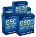 Thumbnail 6500 ARTICLES 2011. High Quality PLR