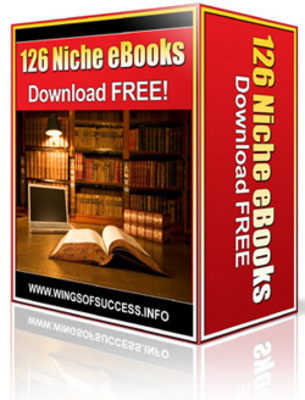 Product picture 126 Niche Ebooks With MRR