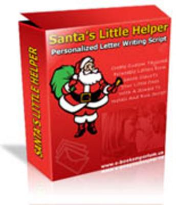 Product picture Santas Little Helper