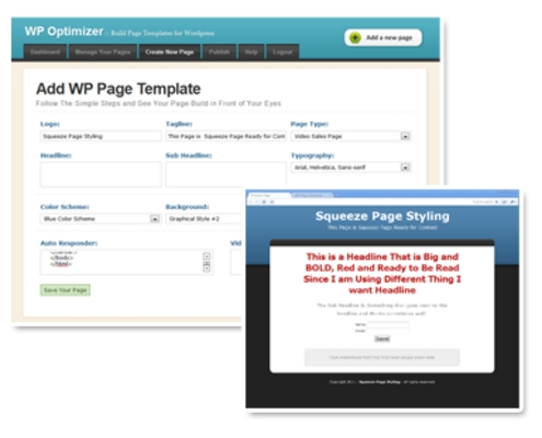 Product picture WP Optimizer
