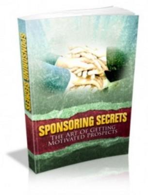 Product picture Sponsoring Secrets + RR