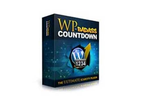 Product picture WP BadAss Countdown Plugin