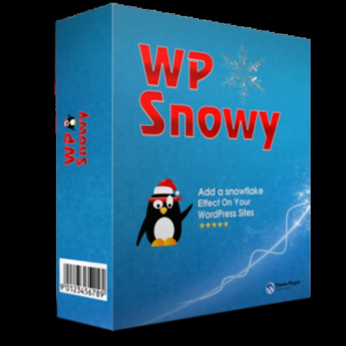 Product picture WP Snowy Plugin