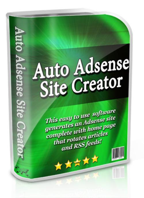 Product picture Auto Adsense Site Creator