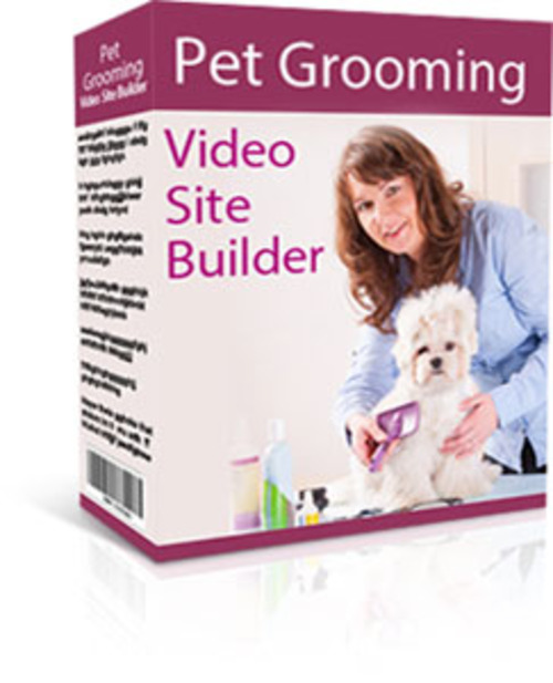Product picture Pet Grooming Video Site Builder