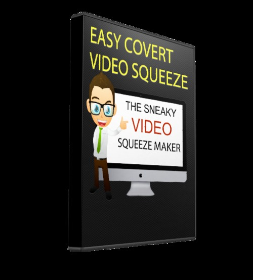 Product picture Covert Video Squeeze Page Creator