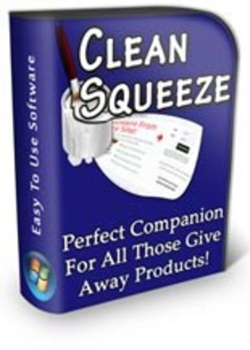 Product picture Clean Squeeze Software  MRR